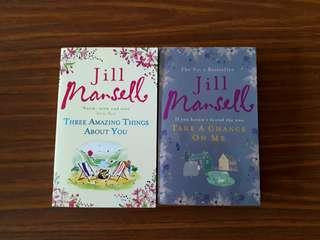 2 for $9: By Jill Mansell: Take A Chance On Me; Three Amazing Things About You #1212