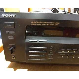 Faulty Sony Amplifier