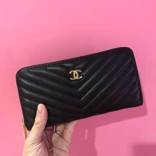 Chanel Replica Zipper Lonh wallet