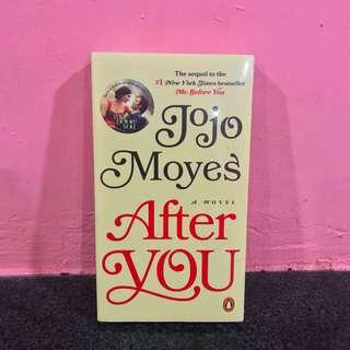 AFTER YOU (me before you) - jojo moyes novel book