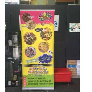 Pull Up Banner - On the Spot Collection available !!!