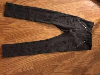 High waisted skinny pants (size 4)