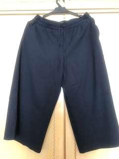 Zara Navy culottes Size L