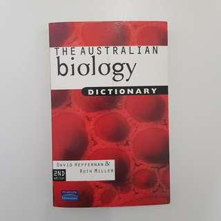 VCE BIOLOGY DICTONARY