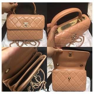Authentic Chanel CC Trend Bag