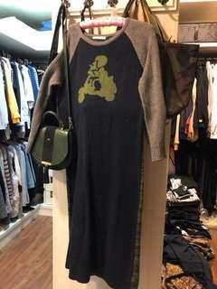 🚚 E-WEAR#毛衣長洋裝-家中清整,拍賣至11/22下架