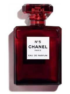 Chanel No 5 Eau de Pefume RED EDITION 100 ml