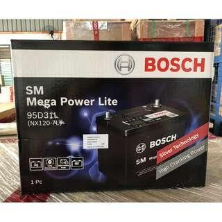 NX120-7L BOSCH Car Battery (95D31L)