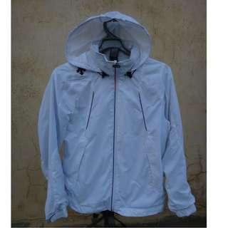 🚚 正品 DESCENTE 白色 保暖防風外套 size: S