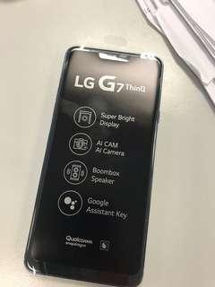 LG G7 64GB 藍色(1010機,全新有保)