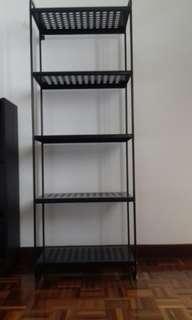 ikea metal shelf