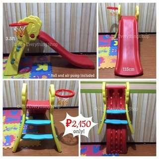 Slide with Basketball Set
