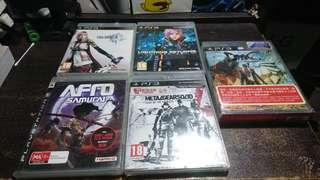 ( PS3) Playstation 3 Games