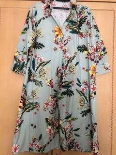 Zara shirt dress L
