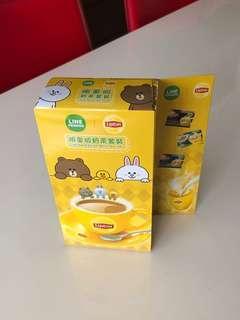 Line Friends Lipton Limited Edition Milk Tea Set