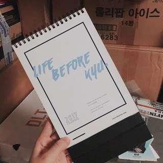[wts] infinite sunggyu fansite 2017 calendar