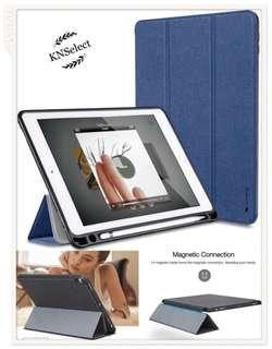 🚚 iPad 9.7/10.5 Smart Rubber Case with Pencil Holder