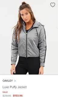 Oakley puffy jacket size s