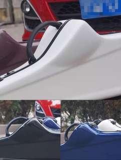 次中音薩克斯風箱 飛行箱 亮面 手提箱 造型箱 輕便好攜帶 限量三色 白藍黑