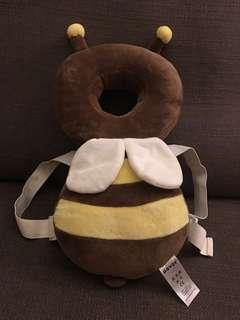 New baby/ toddler head protector cushion - baby bee