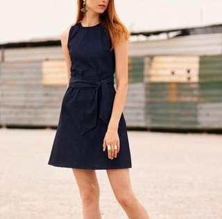 🚚 [TCL] Tyson Denim Sash Dress