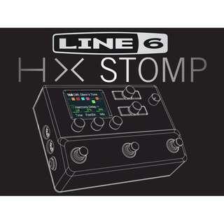 YEAR END SALE - Line 6 HX Stomp Guitar Multi-Effects Floor Processor