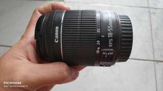 Canon lensa 18-55 mm
