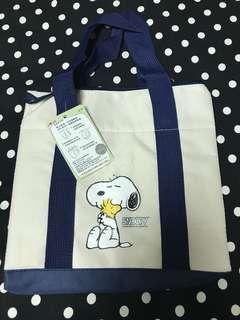🚚 Snoopy環保兩用袋