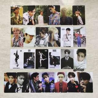 [INSTOCK!] EXO/NCT 127/SHINee/SHINHWA/Super Junior/TVXQ Album PCs.