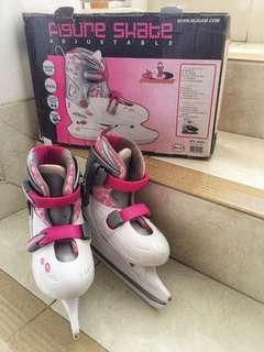 Sepatu Ice Skating Anak size 34 - 37