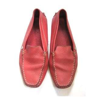 Tods Red Lofers