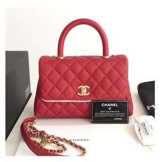 Authentic Chanel Coco Small Flap Bag