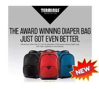 Terminus Urban Dad 3.0 Diaper Bag