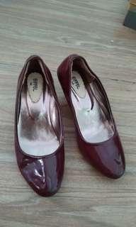 Eiffel Shoes Maroon