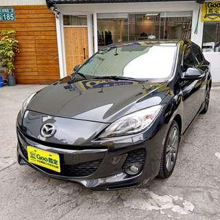 13年Mazda 3 2.0小改款頂級,認證車.全額貸.零頭款.免保人