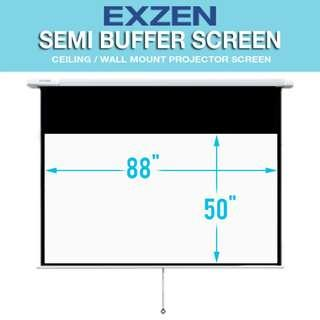 "[EXZEN] 100"" 16:9 Semi Buffer Projector Screen"