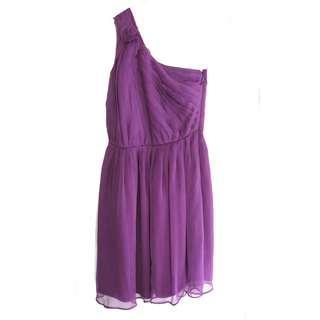 US One Shoulder Dress