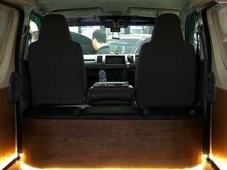Customize interior done for your hiace! Simple yet functional!  Have yours done today!  Booking/enquiries call whatsapp 8270 0007  #datsauto #quality #custom