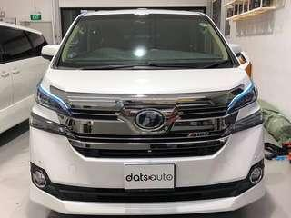 Latest craze from datsauto! Ice blue light with running signal lights!  Have yours done today!   Enquiries/booking call or whatsapp 8270 0007  #datsauto #quality #style #custom