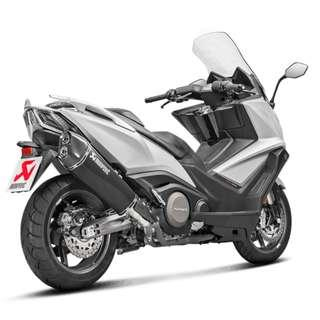 Akrapovic Exhaust for Kymco AK550