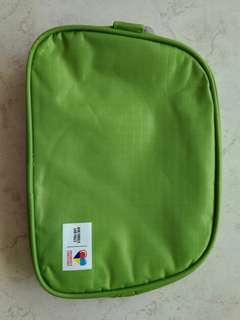 Apple Green Toiletry Bag