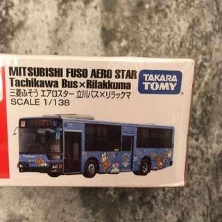 Rilakkuma 鬆弛熊 Tomica Tomy 巴士🚌車仔