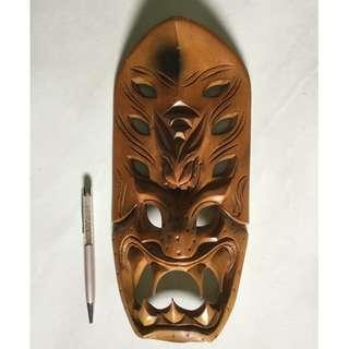 Teakwood carving made in Philippines