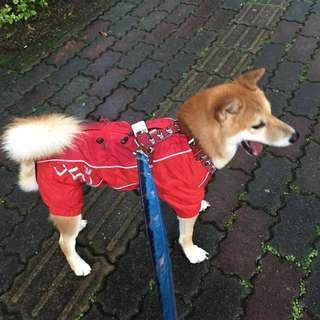 🚚 進口狗狗雨衣