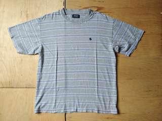 T Shirt Stripe Polo