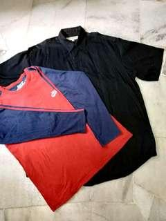 Combo Kemeja TShirt (Buy 1 Free 1)