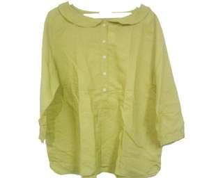 No Brand - Lime Green Blouse