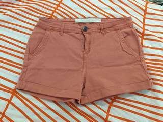 Panel Pocket Chino Shorts