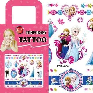 Frozen party supplies - party tattoos / goodie bag gifts / party gifts