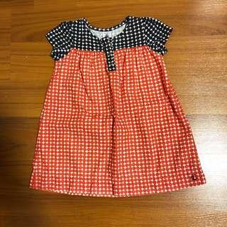 Petit Bateau Print Girls Dress